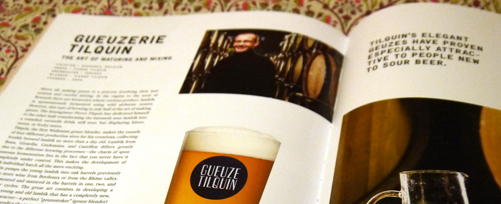 Barley & Hops, The Craft Beer book by Gestalten, detail.