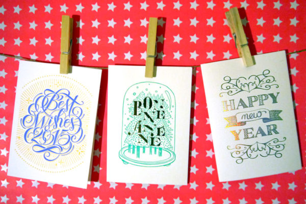 Send beautiful cards with Letterpress de Paris