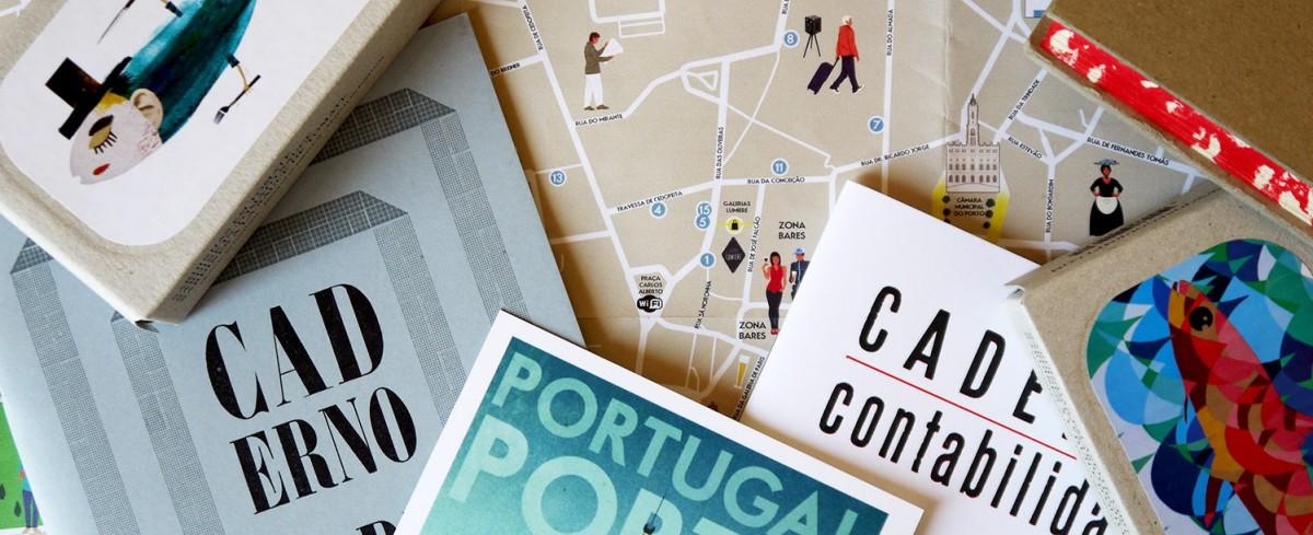 Porto stationery and notebooks