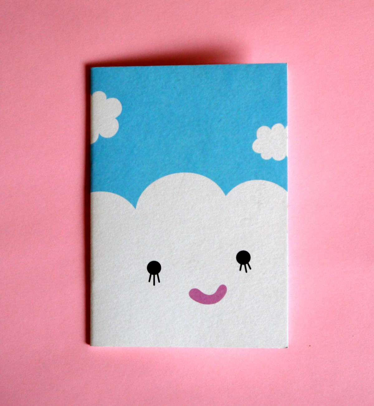 Cute cloud notebook by Noodoll - Wapapum