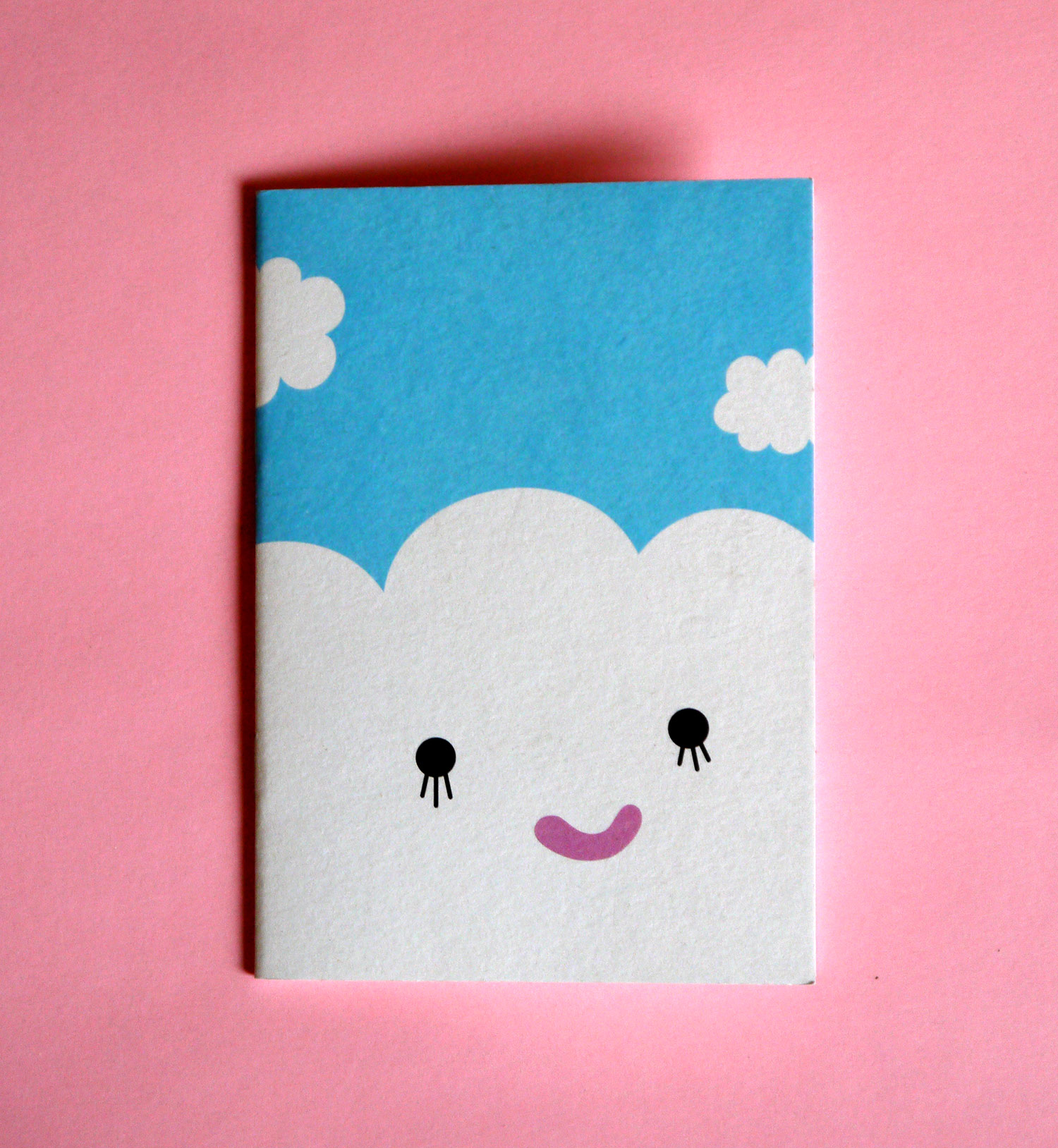 Cloudy with a chance of cute: Noodoll notebook