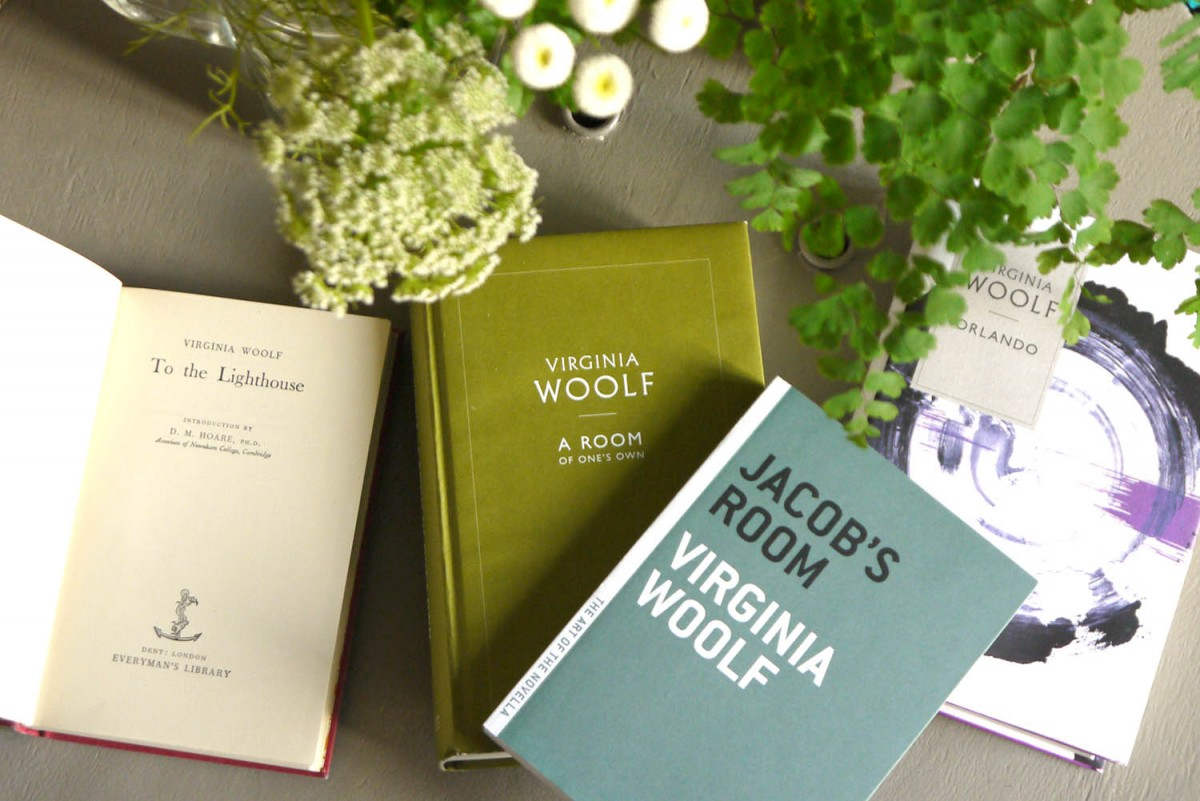 Several editions of Virginia Woolf's works