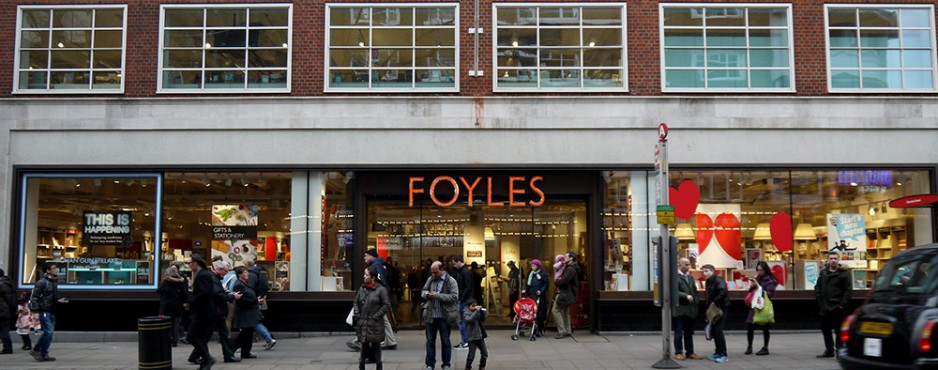 Foyles, iconic bookshop in London