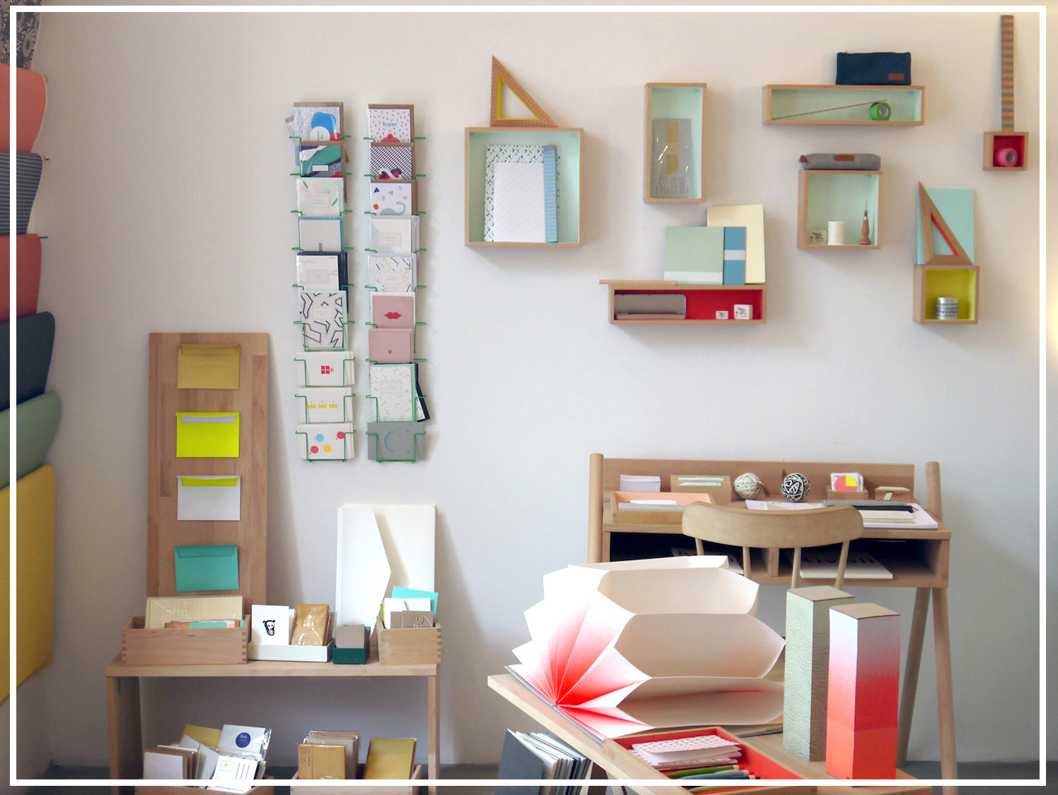 A paper walk in Vienna: sous-bois stationery shop