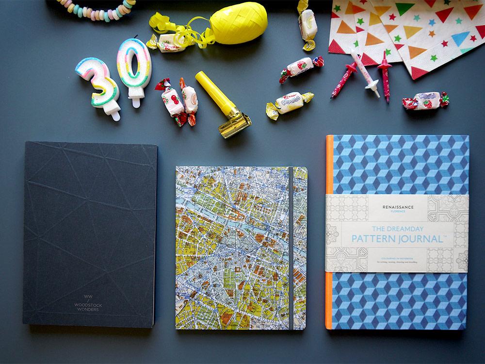 Notebooks for birthday