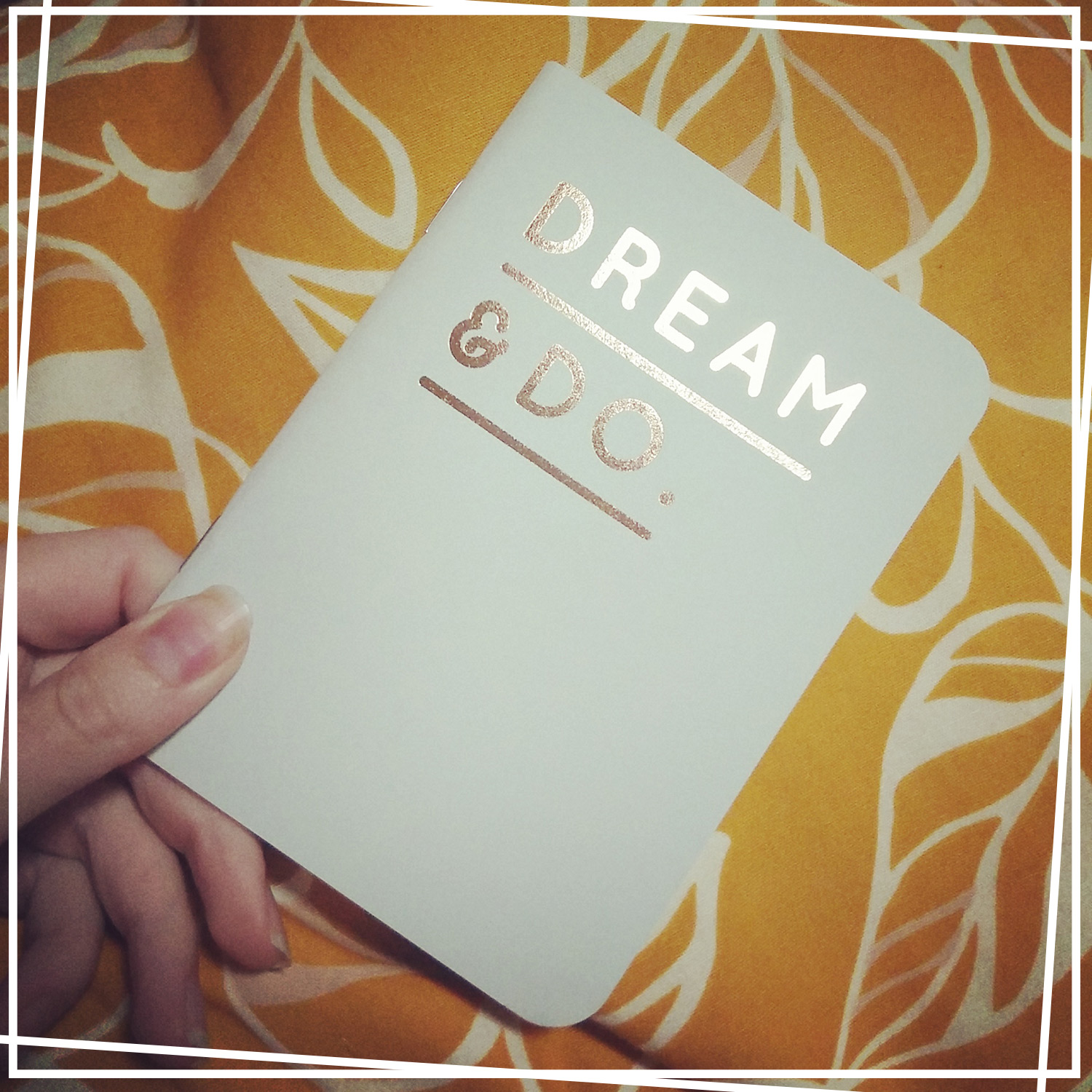 Dream & Do notebook