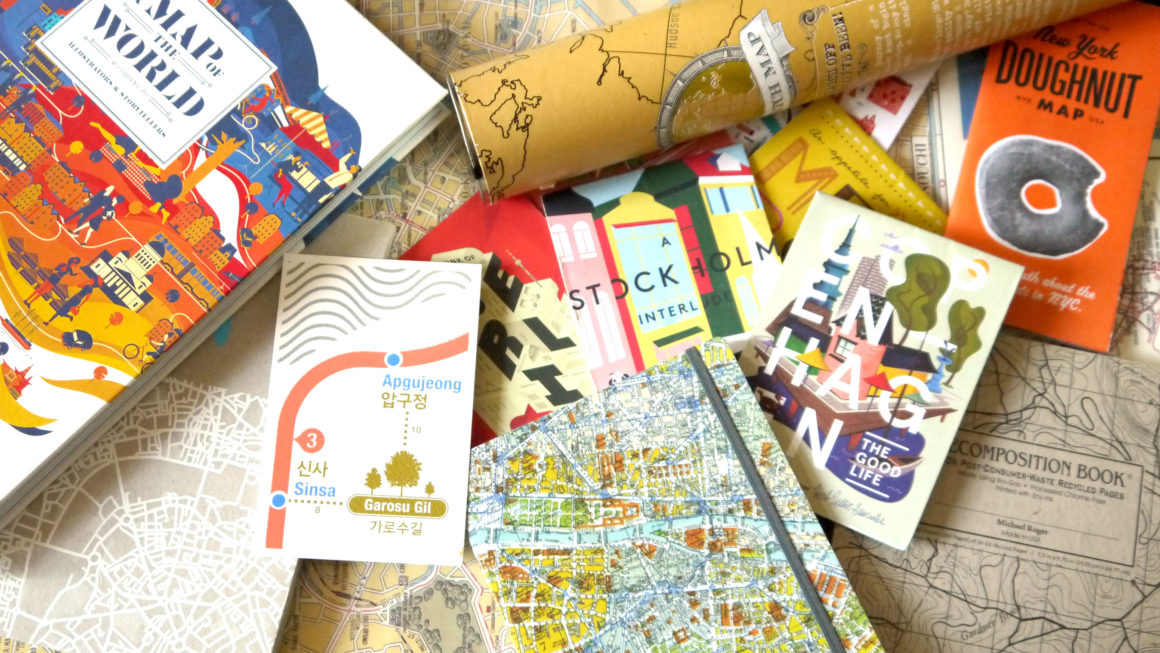 Gift guide for map lovers