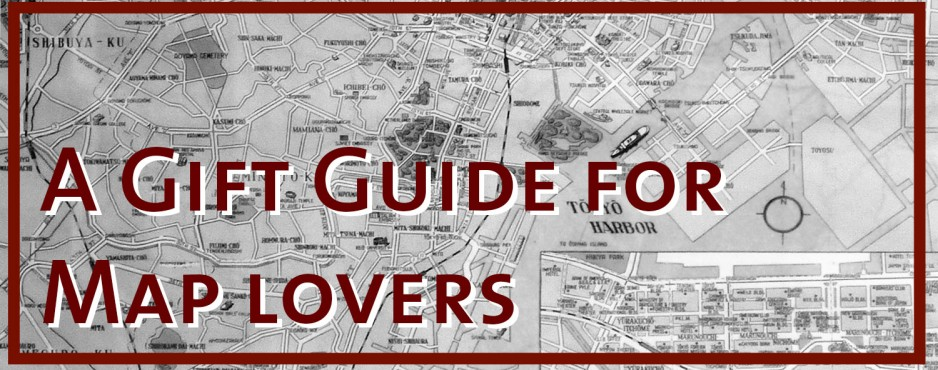 A gift guide for map lovers by Wapapum