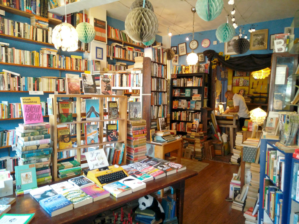 Bloom and Curl independent bookstore in Bristol
