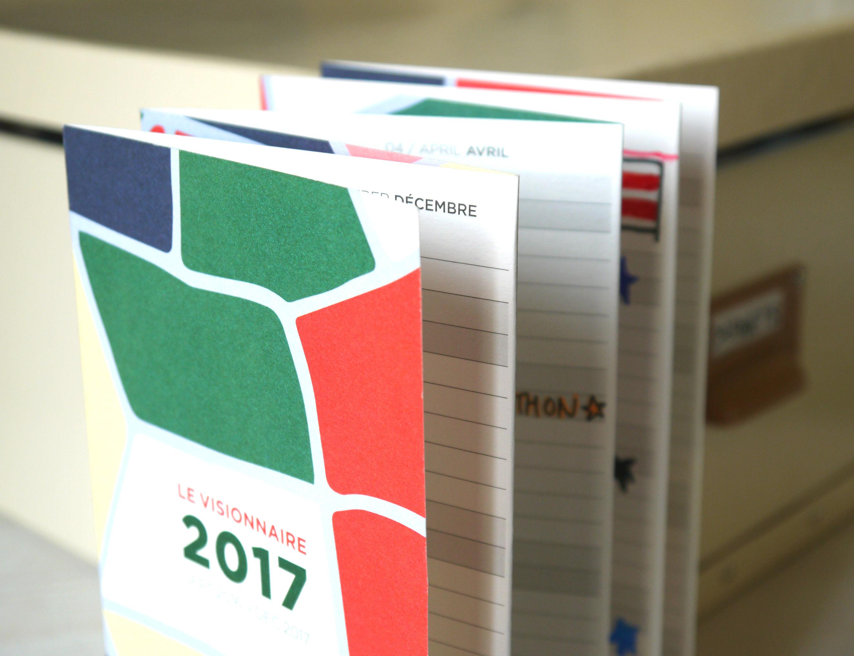 Papier Tigre Visionnaire calendar