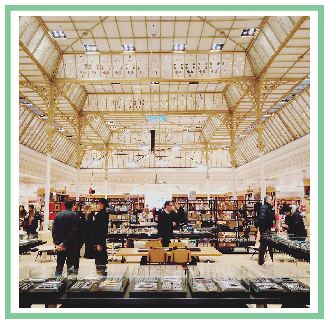 Le Bon Marché, Stationery in Paris