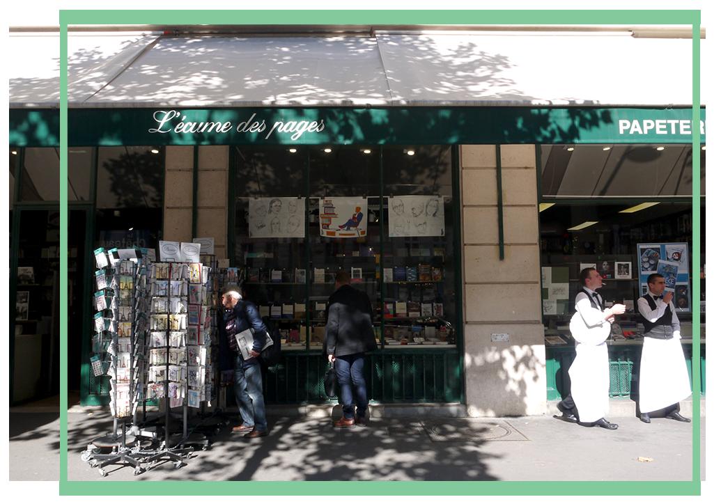 L'Écume des Pages, Bookstore in Paris