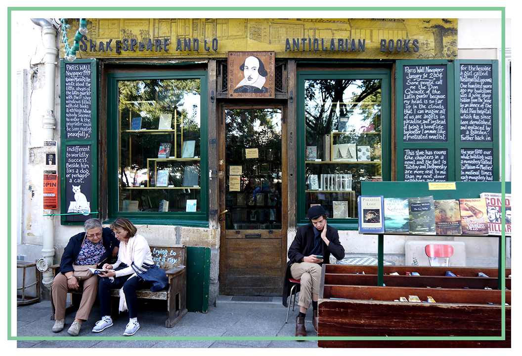 Shakespeare & Company, Bookstore in Paris
