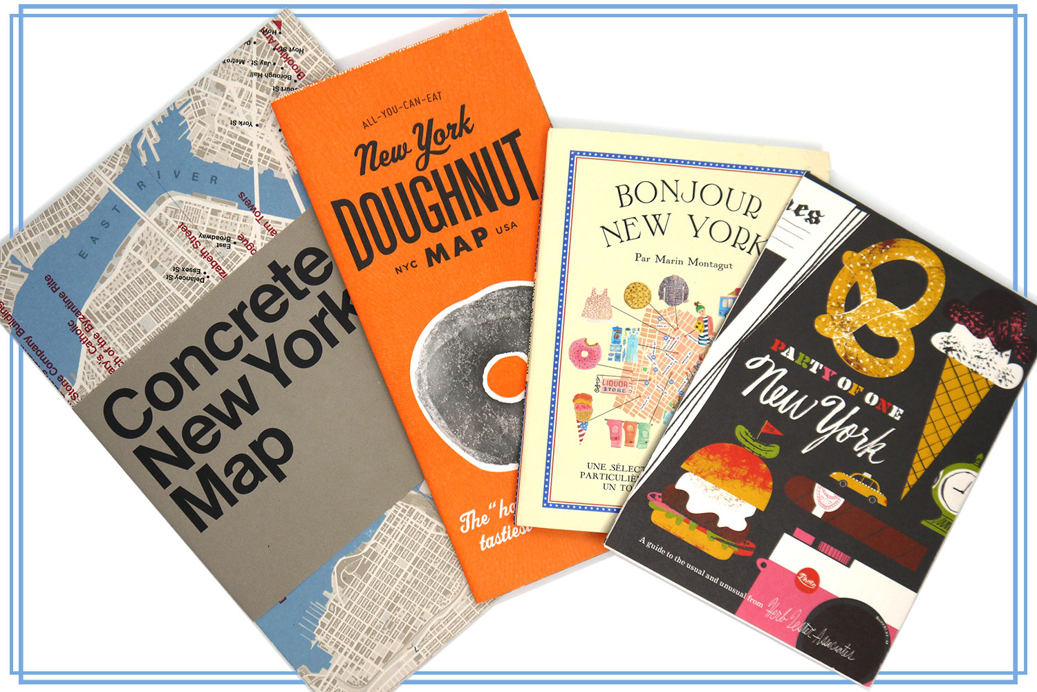 New York travel maps and guides
